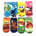 6Pair/lot Summer Breathable Cool Children's Kids Socks 3D Printing Baby Socks Cotton Cartoon For Girls Boys 20 Kind Of Style