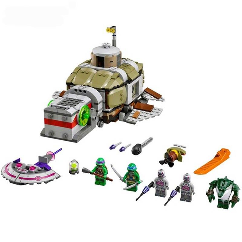 Oyuncaklar ve Hobi Ürünleri'ten Bloklar'de 683 adet Ninja Alt Denizaltı Chase Denizaltı u tekne DIY Modeli oyuncak inşaat blokları Çocuklar için Tuğla Uyumlu LegoINGlys'da  Grup 1