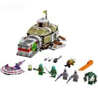 683pcs Ninja Sub Undersea Chase Submarine U boat DIY Model Building Blocks Toys for Children Gift Bricks Compatible LegoINGlys