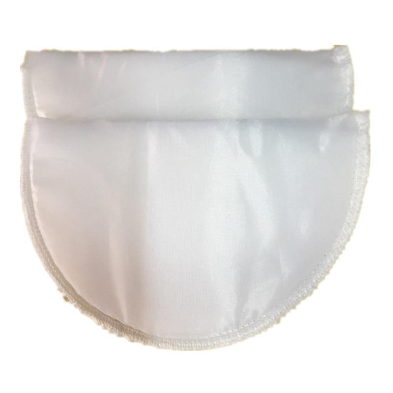 1 пара Высококачественная губчатая Наплечная подкладка для женщин блейзер футболка ветровка одежда аксессуары около 16*10*1 см - Цвет: white