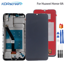 Original For Huawei Honor 8A LCD Display Touch Screen Digitizer Repair Parts With Frame For Honor 8A JAT-L29 LCD Display все цены