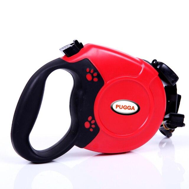 5 M / 8 M Retractable Dog Leash Durable Nylon Dog Leash Automatic Extending Pet Walking Leads For Medium Large Dogs Pitbulls
