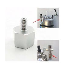 Paintball Sodastream Bottle Tank Cylinder adapter converter Tr21-4 female to 3/8-24UNF male, for home brew