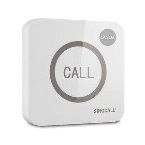 Image 2 - Singcallワイヤレス通話システム、コールベル、ビッグ触れることができる2ボタン防水機能、コールとキャンセルキー、APE520C