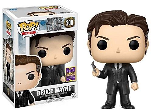 2017 SDCC Exclusive Funko pop Official Heroes: Justice League - Bruce Wayne Vinyl Action Figure Collectible Model Toy In Stock стоимость