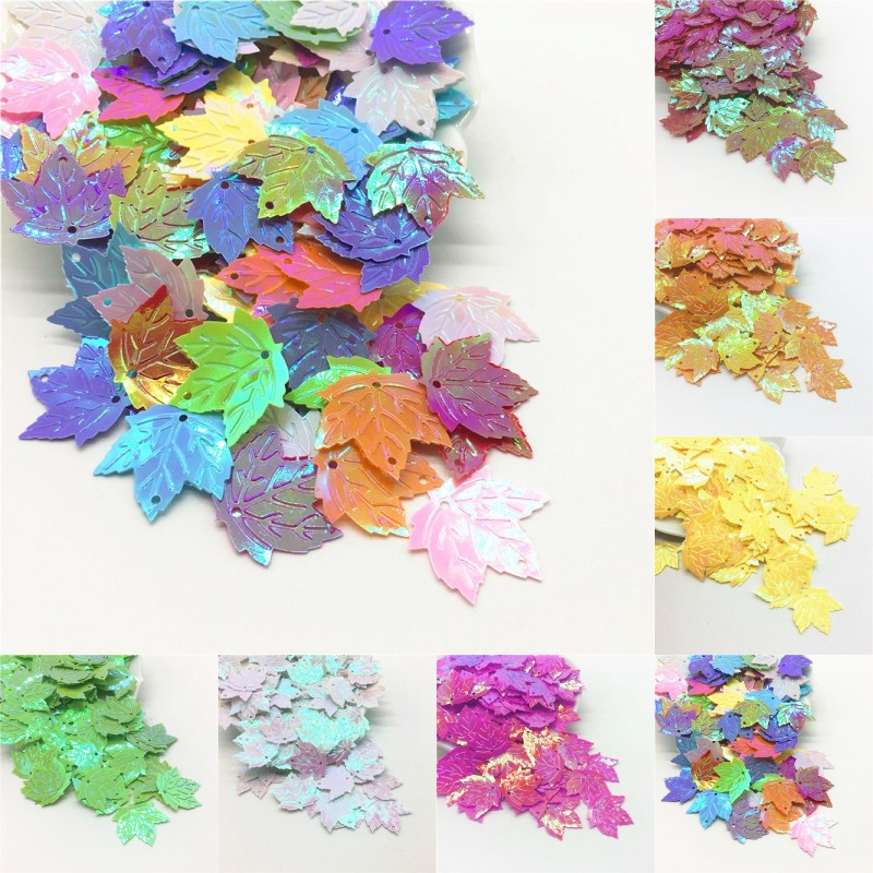 2000 Mixed Color Horse Eye loose sequins Paillettes 8X12mm sewing Wedding craft