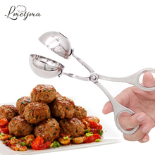 LMETJMA Convenient Meatball Maker Stainless Steel Stuffed Meatball Maker Machine DIY Fish Meat Ball Maker Meatball Mold Tools