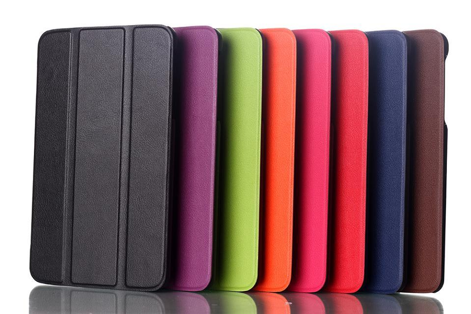 3 in 1 Luxury Magnet Smart Stand pu leather case cover For LG G Pad Gpad 8.0 V480 V490 Tablet PC + Screen protectors+ stylus