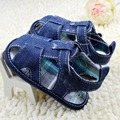 Super Baby New Blue Jean Kids Baby  Girls Boys Shoes Summer Toddler First Walkers Shoes S01