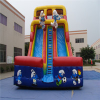 commercial inflatable bouncer slide with CE/UL blower