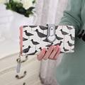 New Animal Graffiti Cute Women Wallets And Handbags Brands Love Buckle Tassel Purses For Girls Money Card & ID Holder