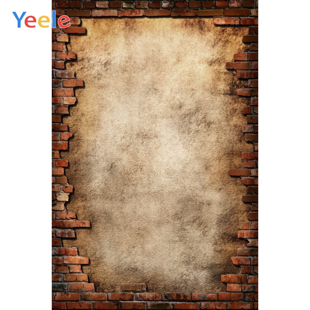 Yeele Old Brick Tearing Wall Portrait Grunge Photography Backgrounds Customized Photographic Backdrops For Photo Studio
