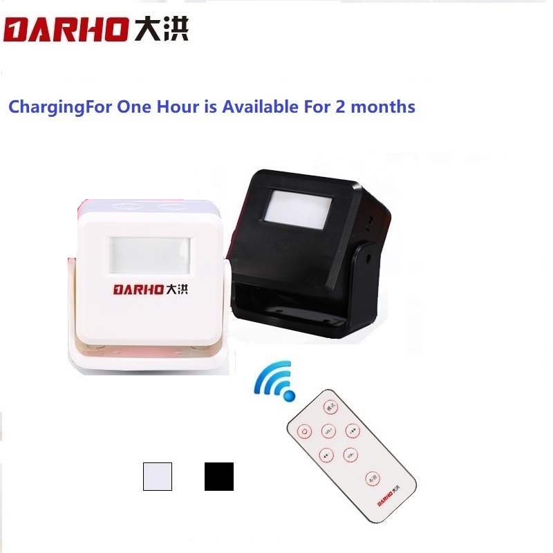 Darho Hello Welcome Shop Store Home Security Welcome Chime Wireless Infrared IR Motion Sensor Door bell Alarme Entry Doorbell