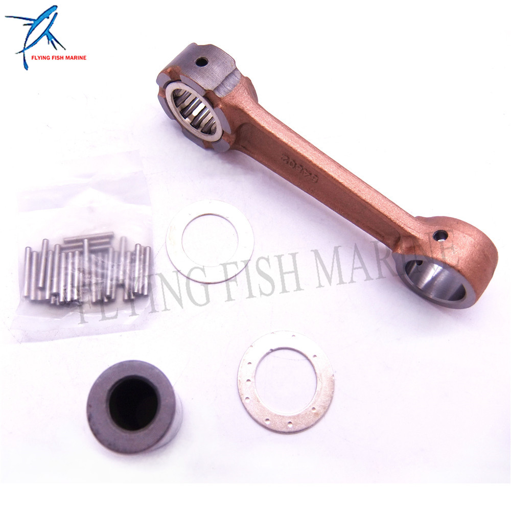 Outboard Motor 648-11650-00 Connecting Rod Kit for Yamaha 25HP Boat Engine