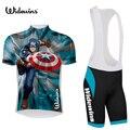 2017 Америка pro team Велоспорт Джерси комплект летний дышащий гоночный велосипед одежда MTB Ropa Ciclismo велосипед Майо капитан 5446