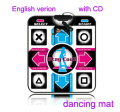PC or TV Play Non-Slip Dancing Step Dance Mat toy Pads W/english song&CD USB machine