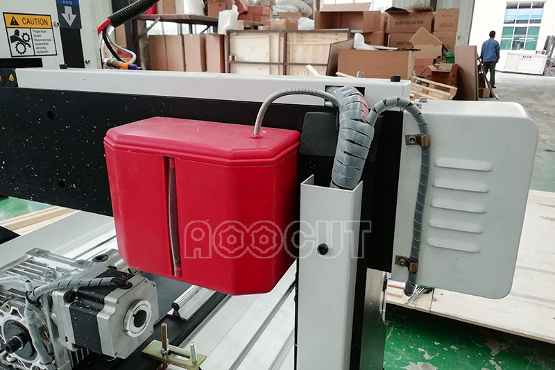 Hot sale 4th rotary axis mini cnc router and mini desktop 6090 cnc aoocut at a low price 5