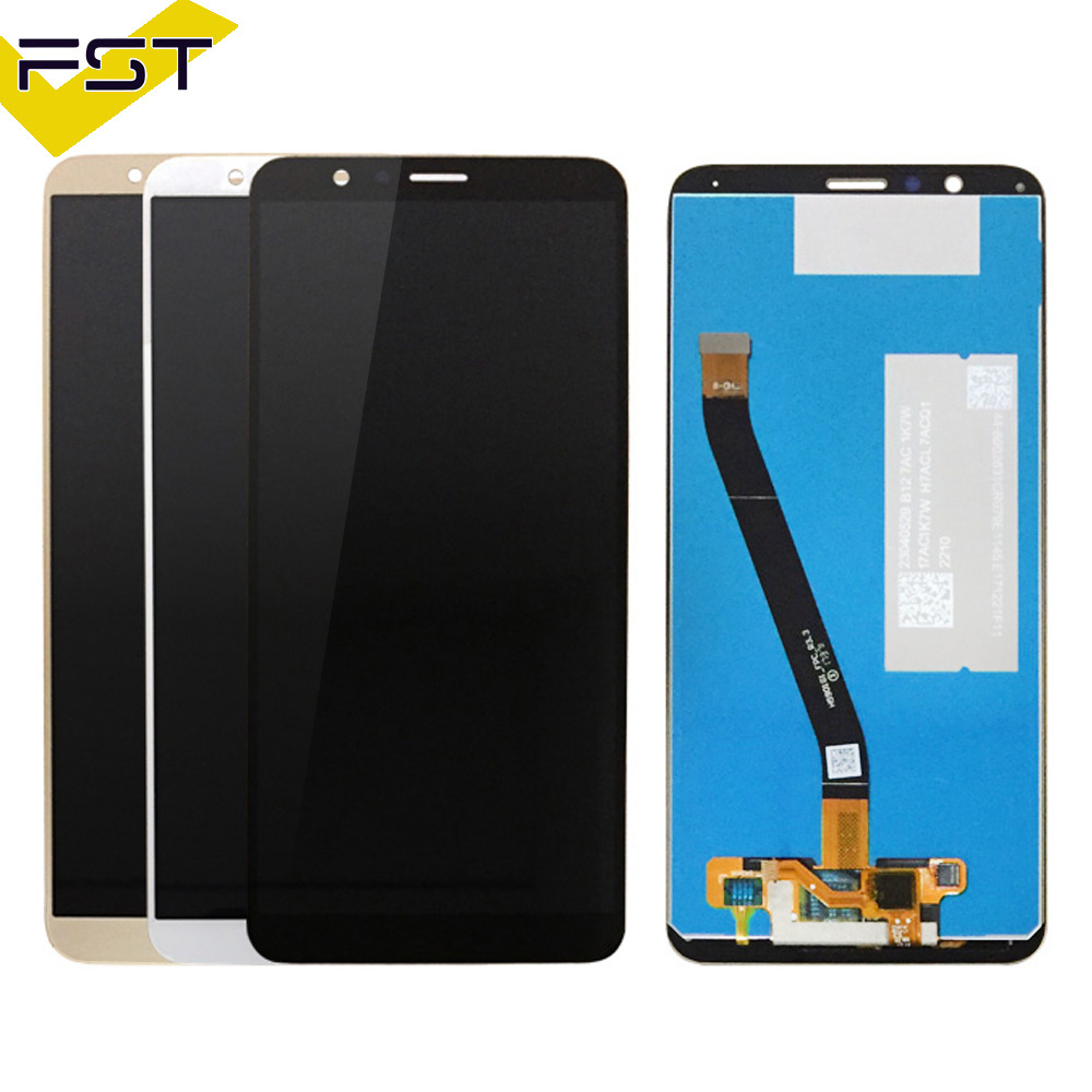 100% Tested 5.93 For Huawei Honor 7X LCD Display Touch Screen Digitizer Assembly BND-TL10 BND-AL10 BND-L21 LCD Free Tools