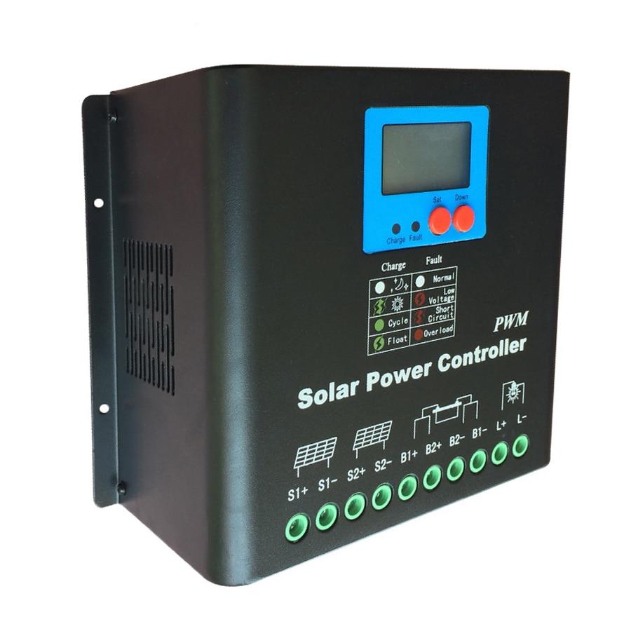 120a Solar Charge Controller 12v 24v 36v 48v 72v 96v 110v 120v Battery Charger With Overcharge Protection Electronic Regulator For Lead Acid Gel Lithium Etc In Controllers From