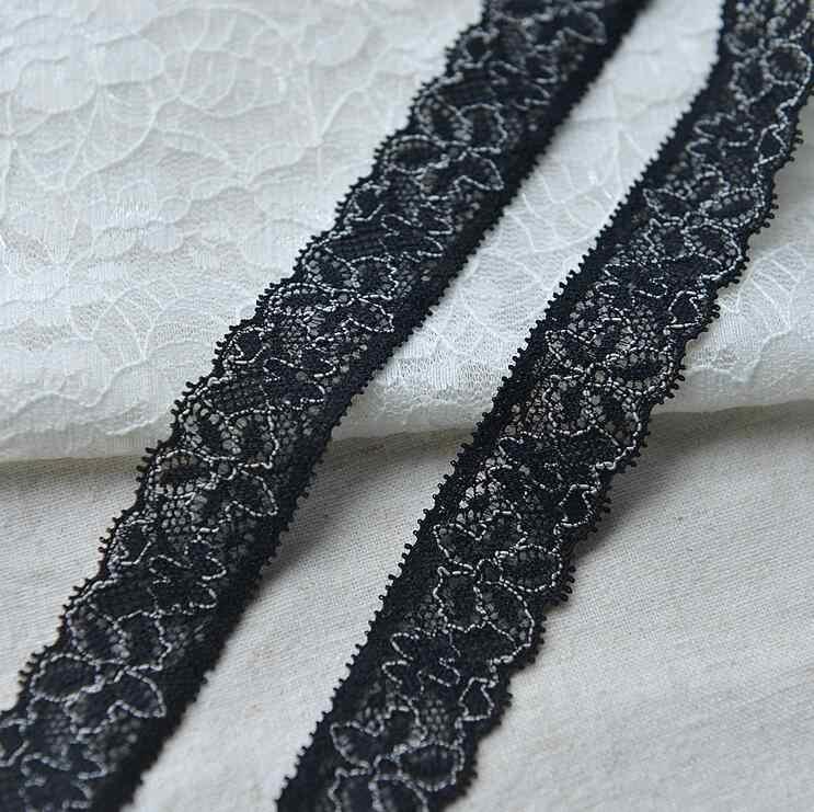 Commercio all'ingrosso 4 Metri Stretch Pizzo Floreale Copribordi Abbellimento Handmade DIY Decorativa Lace Trim Per Abito Da Sposa