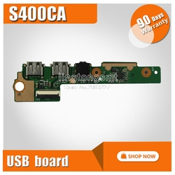 Для For Asus X402C X502C S400CA S300CA F502C ноутбук аудио USB IO Плата интерфейс SD карта плата считыватель звуковых карт