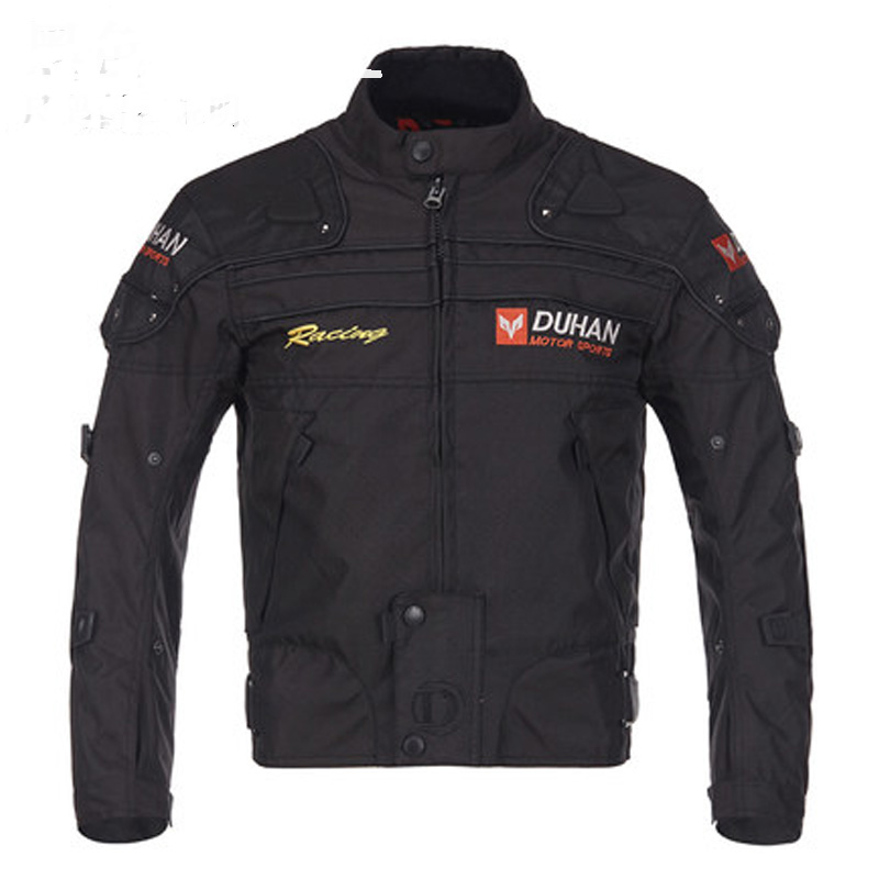 DUHAN Motorcycle Jackets Men Riding Motocross Off-Road Windproof Racing Clothing Protective Gear riding tribe men motocross off road racing jacket motorcycle windproof waterproof riding travel clothing with 5 protective gear