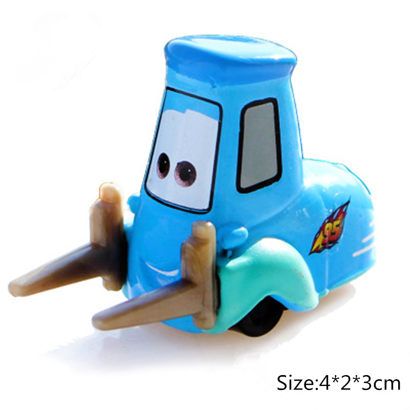 Cars Disney Pixar Cars 3 2 Guido Chick Hicks Jackson Storm Ramirez Mater 1:55 Diecast Metal Alloy Model Cars Kid Gift Boy Toys