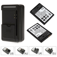 2pcs 2800mAh BL-54SH Replacement Phone Battery + Wall Charger For LG G2 Optimus LTE 3 F260S F320 US780 F7 Li-ion Battery Bateria