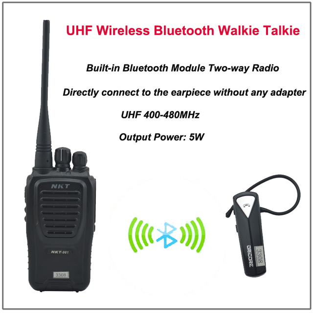 bluetooth walki talki
