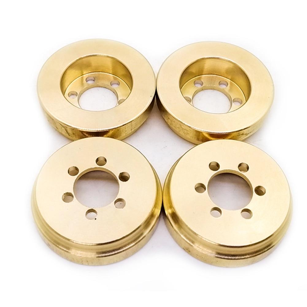 1Pc RC Toy Internal Counterweight Beadlock Parts 1.9 2.2 Inch Car Balance Wheel Rim Professional Brass Crawler For Traxxas TRX4