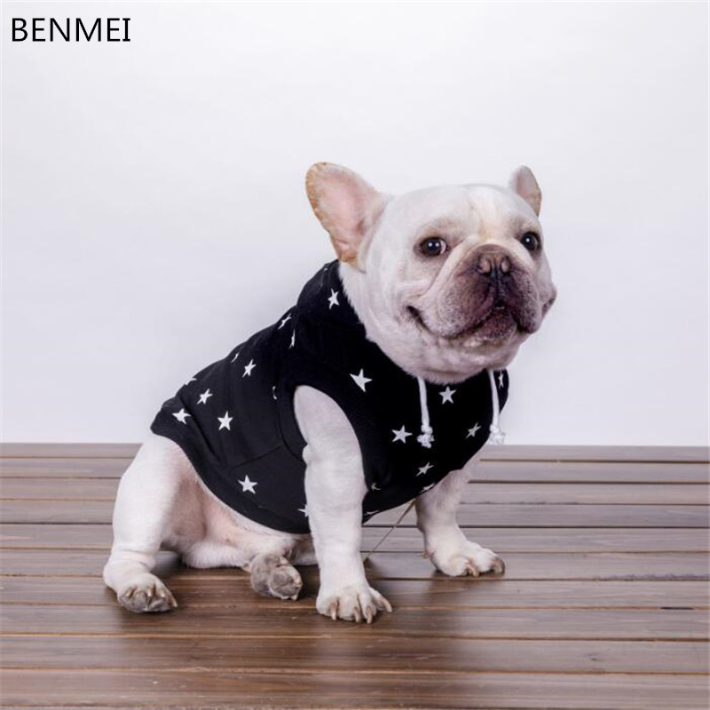BENMEI Pet Puppy Dog Hoodies Clothes For Small Medium Dogs Chihuahua French Bulldog Hooded Clothes Costumes Clothing
