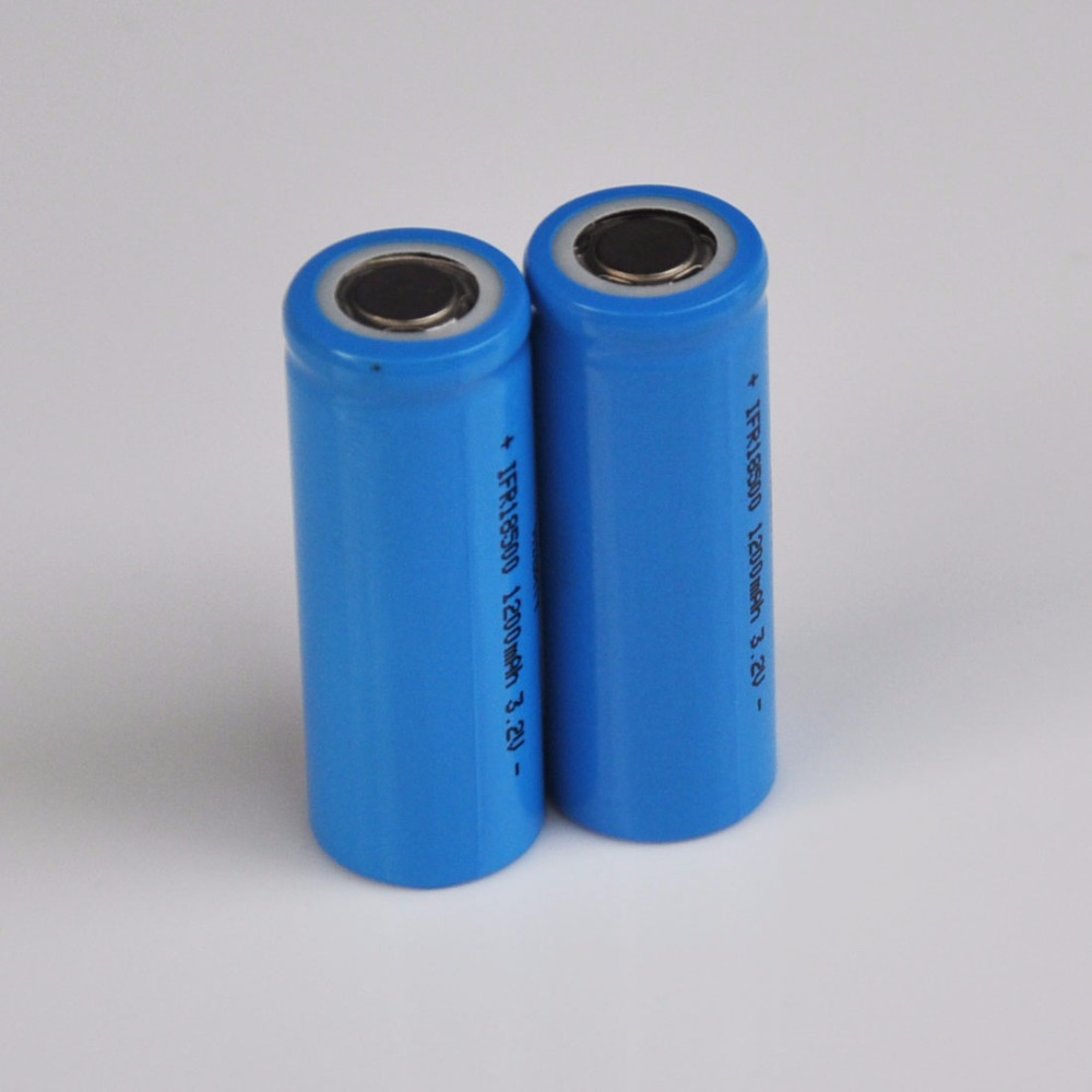 Nuevo 2-10 Uds 3,2 V 18500 batería de litio recargable IFR LiFePo4 cell 1200mah para luz LED solar e-bicicleta herramientas
