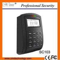 Sc103 بطاقة rfid نظام مراقبة الدخول مستقل tcp usb ل مكتب/مصنع/نظام المنزل