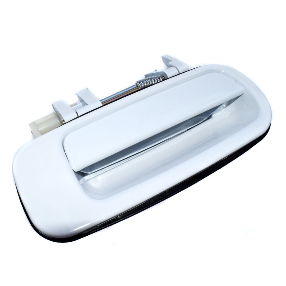 Outside Door Handle Rear Right Passenger Exterior Silver