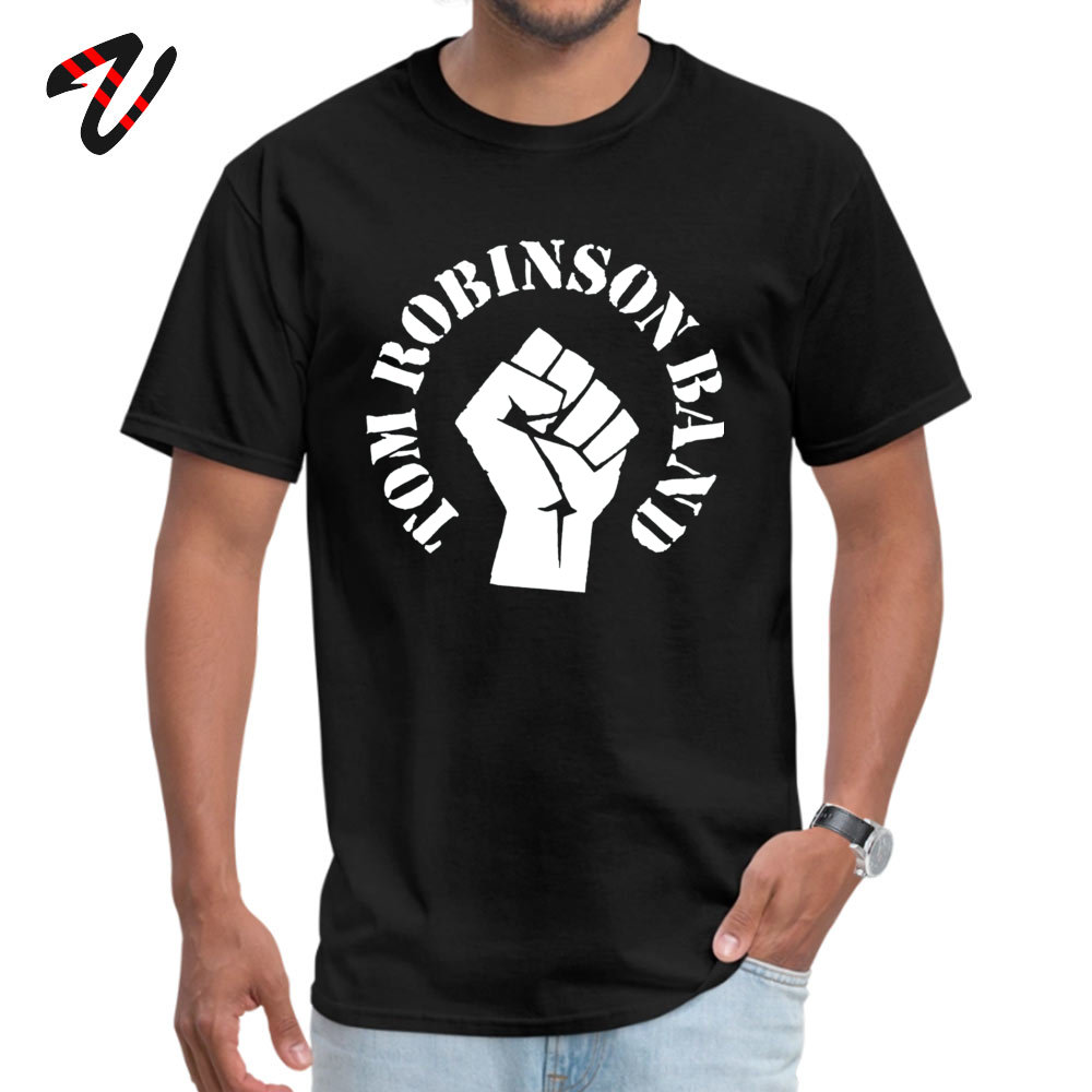 Cheap Tom Robinson Band t Printed T-Shirt Round Collar Sik Youth Tops T Shirt Vietnam War Sleeve Clothing Shirt April FOOL DAY image