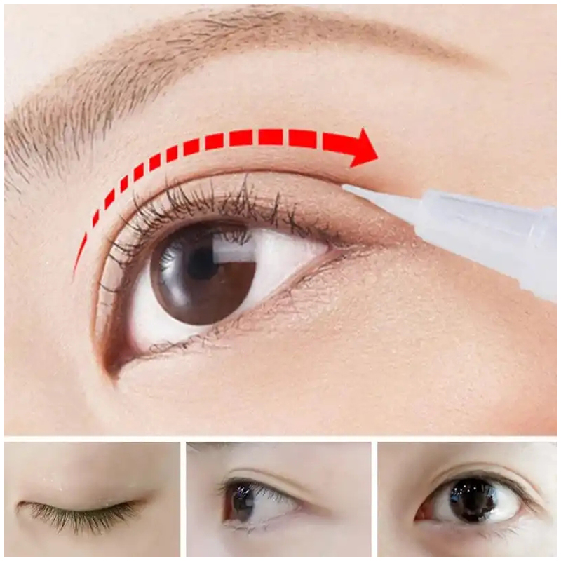 BEACUIR Professional Invisible Double Eyelid Shaped Cream Waterproof Double Eyelid Beauty Cream Eyes Styling Shaping Tools Care