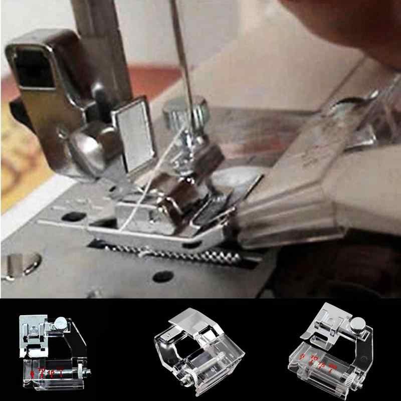 Drop Shipping 2019 Home Adjustable Bias Binder Presser Foot Feet for Sewing Machines