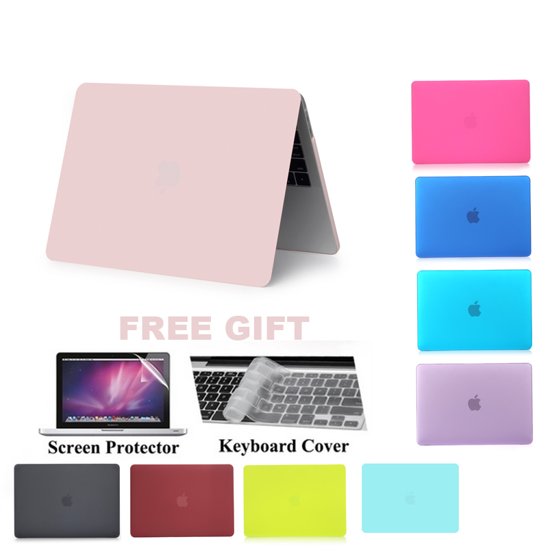 2016 New Matte Hard Case Cover for MacBook Pro 13 A1706 for Pro 15 A1707 With
