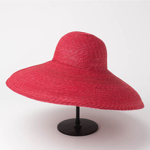 Шляпа Соломенная женская с натуральными широкими полями, Панама от солнца в стиле Королевский Аскот, Дерби, соломенная шляпа с широкими полями, для рукоделия, летняя