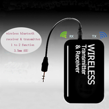 2 in 1 Bluetooth Transmitter Bluetooth font b Receiver b font Music Stereo Audio 3 5