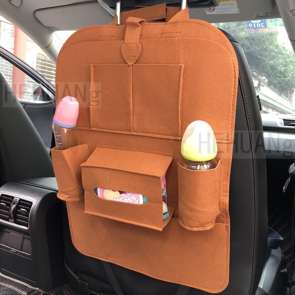 1 Pc Auto Lagerung Tasche Universal Box Zurück Sitz Tasche Organizer Rücksitz Halter Taschen Auto-styling Protector Auto Zubehör Für Kid Feine Verarbeitung