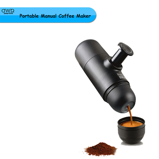 1pc minipresso wacaco portable manual coffee maker espresso coffee maker manual coffee machine bpa free outdoor