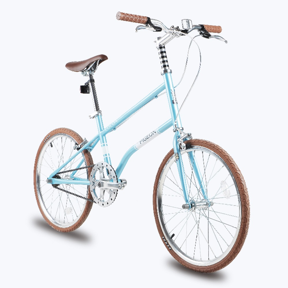new arrival lightweight single speed 20 inch leisure bike youth version of the retro car