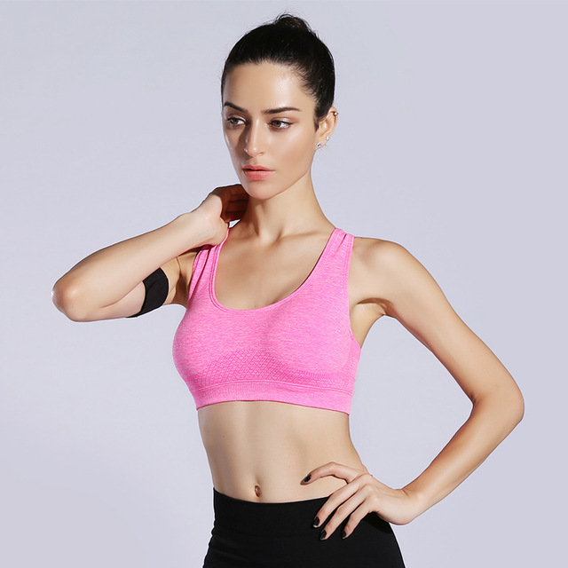 3700072eee7b9 Hot Sale New Women Shockproof Sports Bra