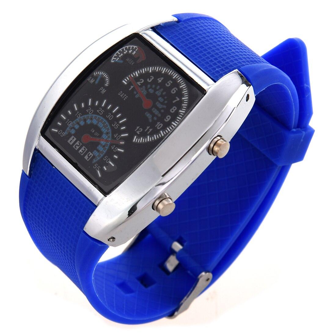 Royal Blue LED Watch Dashboard