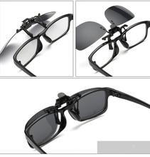 VWKTUUN Square Polarized Clip On Sunglasses Women Men Sun Glasses