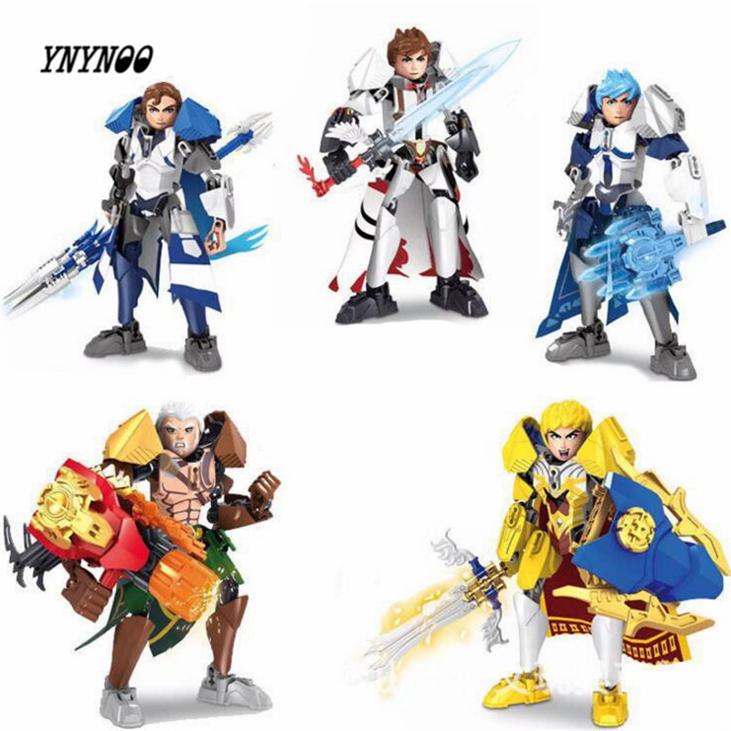 YNYNOO Marvel Avengers Super Heroes Bionicle Building Blocks Libai Zhaoyun zhugeliang Heroes DIY Assemble Brick Kid Toys Lepin singlesale captain america 3 with car civil war marvel super heroes the avengers minifig assemble building blocks kids toys