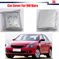 Cawanerl Car Cover Anti-UV Rain Snow Sun Resistant Protection Cover For VW Volkswagen Bora Free Shipping !
