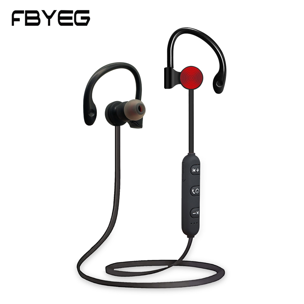 FBYEG K1 Bluetooth Earphone Wireless Headphones Sport Headset Stereo Bass Earpiece with MIC Bluetooth Earbuds For Xiaomi Phone платья bonne femme платье
