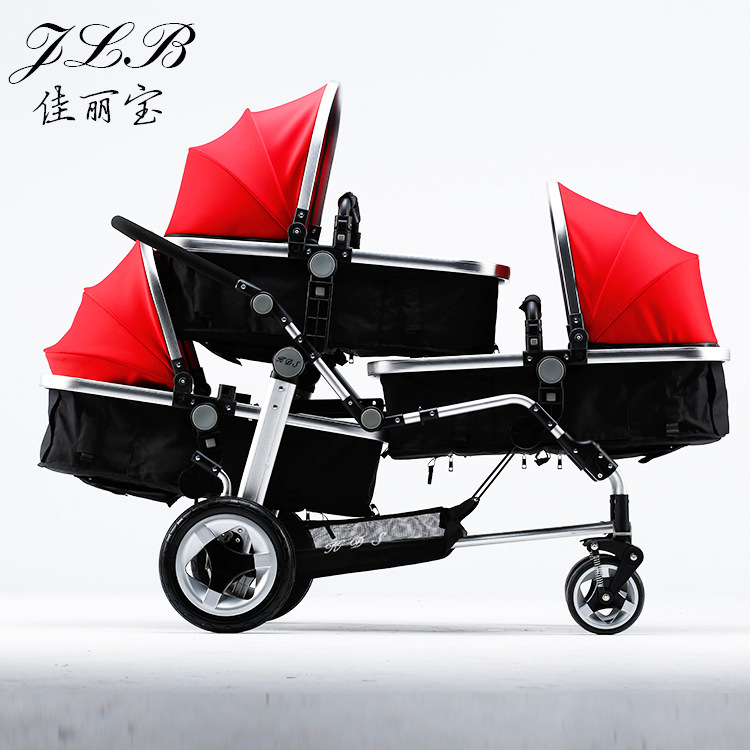 3 seat baby Stroller Aluminum Alloy Multifunctional Baby carriage children carts newborn  baby pram gifts multifunctional professional handle pulley roller gear outdoor rock climbing tyrolean traverse crossing weight carriage fit